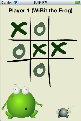 Screenshot WiBit.Net Presents TicTacToe